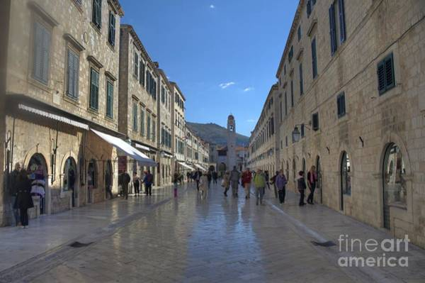 Photograph - The Stradun By Day by Crystal Nederman