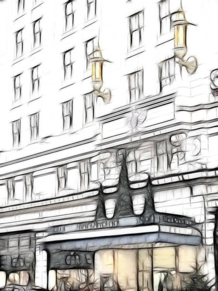 Wall Art - Photograph - The Strand Palace Hotel by Sharon Lisa Clarke