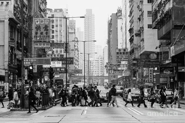 Photograph - The Streets Of Hong Kong by Asiadreamphoto
