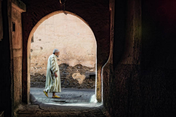 Wall Art - Photograph - The Streets Of Marrakesh by Piet Flour