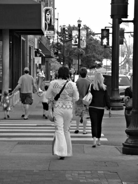 Photograph - The Streets Of Nashville by Lance Vaughn