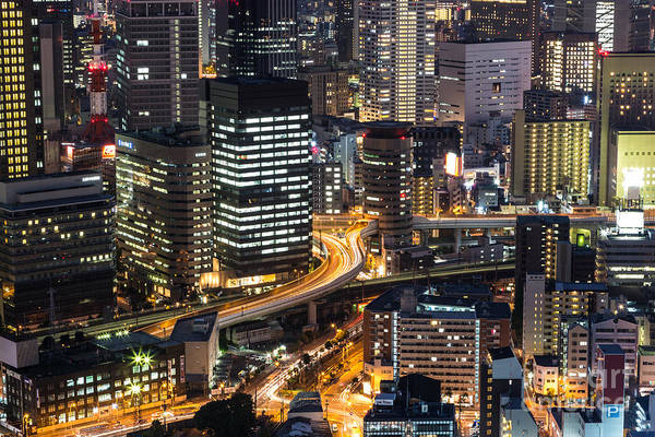Photograph - The Streets Of Osaka by Didier Marti