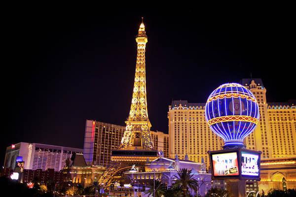 Las Vegas Photograph - The Strip, Las Vegas by Kim Steele