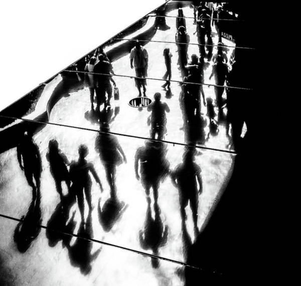 Crowds Wall Art - Photograph - The Strip by Pawel Majewski