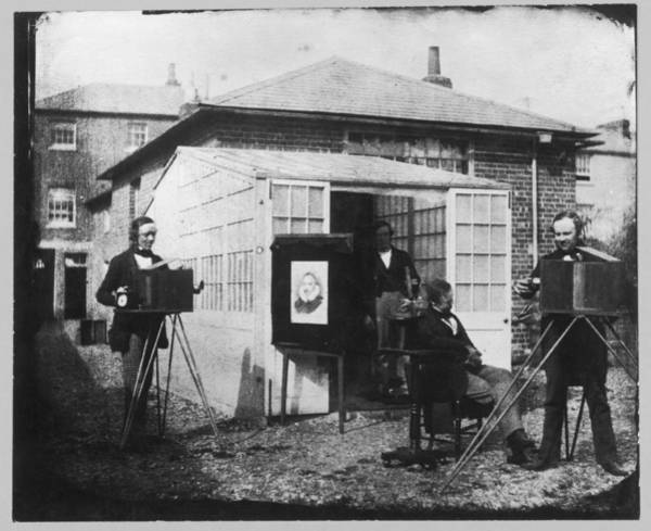 Wall Art - Photograph - The 'studio' Of W H Fox Talbot by Mary Evans Picture Library