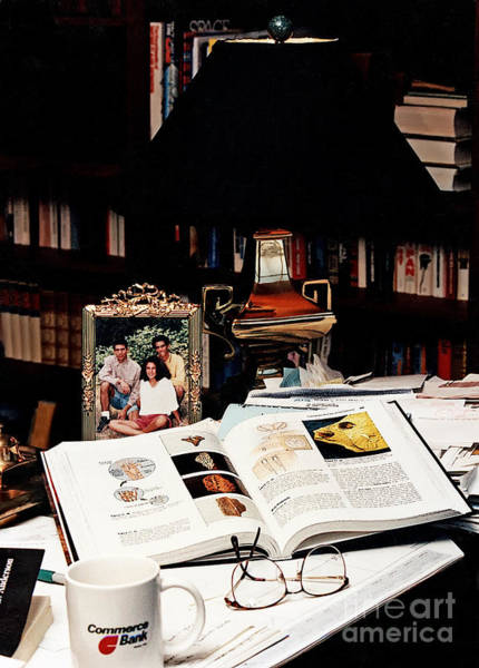 Photograph - The Study by Geoff Crego