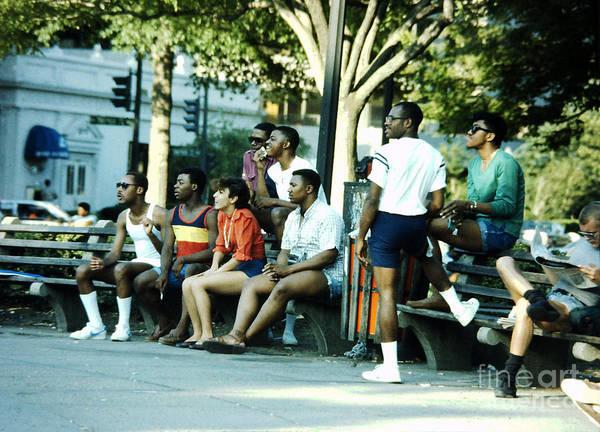 Photograph - The Summer Of 84 - Dupont Circle No. 6 by Walter Neal