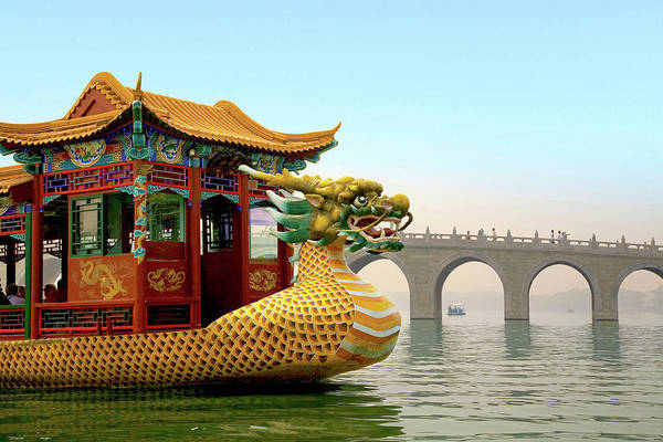 Wall Art - Photograph - The Summer Palace, Beijing, China by Miva Stock