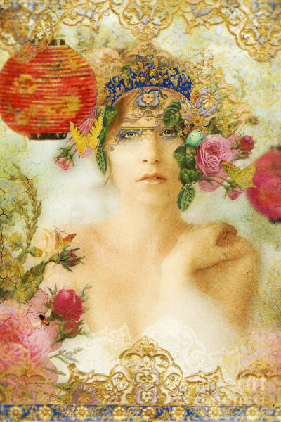 Oriental Photograph - The Summer Queen by MGL Meiklejohn Graphics Licensing