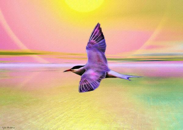 Painting - The Sun Bird by Tyler Robbins
