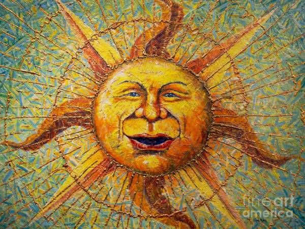 Sunday Painting - The Sun King by Gail Allen