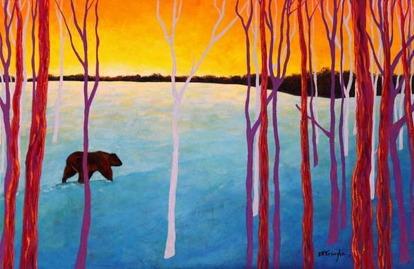 Wall Art - Painting - The Sundowner by Joe  Triano