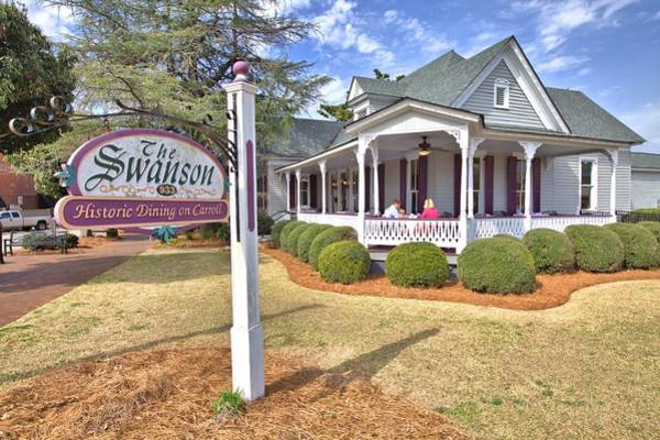Photograph - The Swanson House by Gordon Elwell