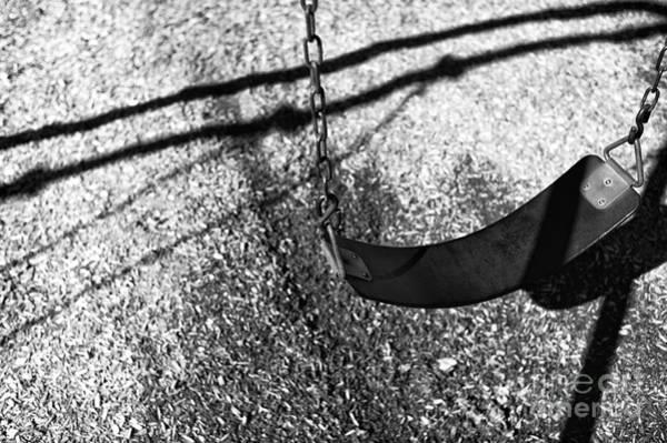 Wall Art - Photograph - The Swing Mono by John Rizzuto
