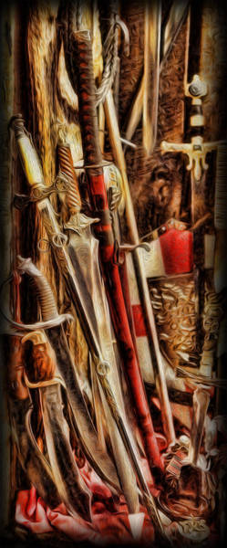Wall Art - Photograph - The Swords Of War by Lee Dos Santos