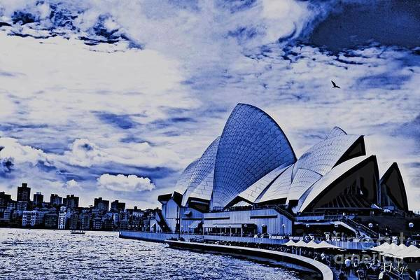 Photograph - The Sydney Opera House by Helge