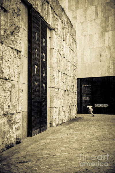 Photograph - The Synagogue by Hannes Cmarits