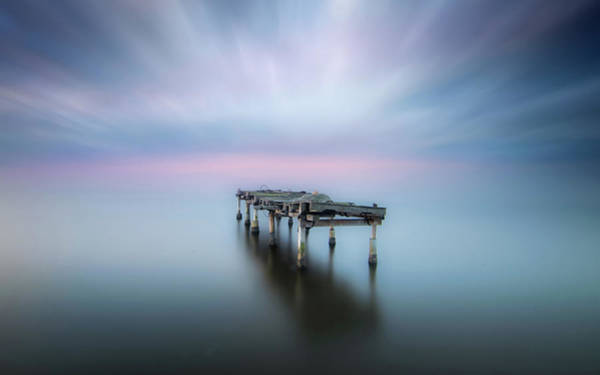 Pastel Photograph - The Table by Joaquin Guerola