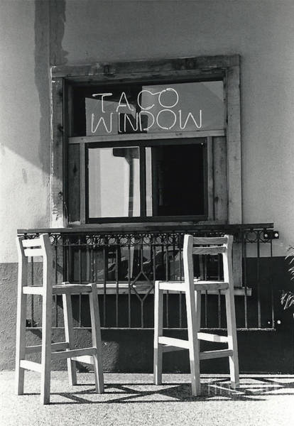 Photograph - The Taco Window by Susan Schroeder