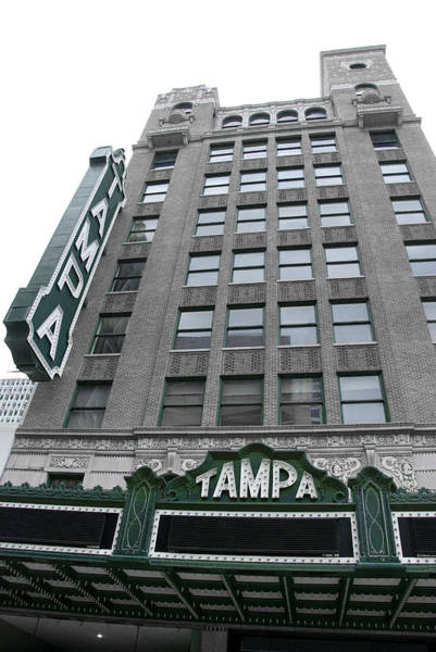 Photograph - The Tampa Theatre by Beverly Stapleton