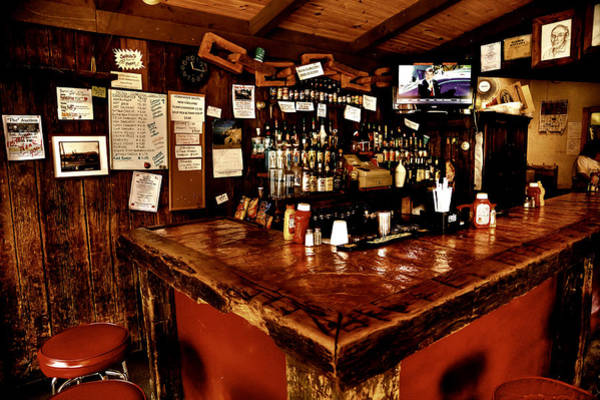 Photograph - The Tap Room In The Raquette Lake Hotel by David Patterson