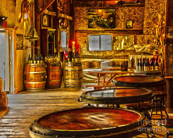 Photograph - The Tasting Room by William Norton