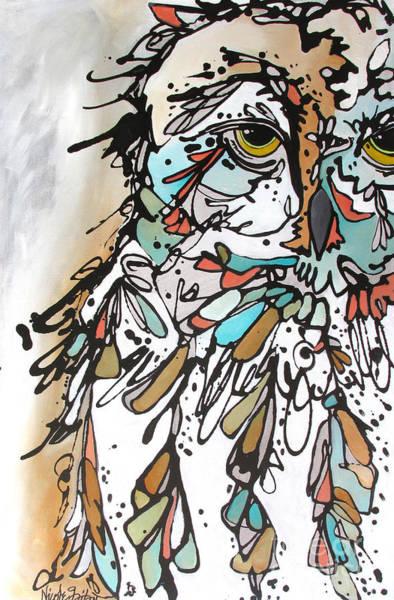 Painting - The Teacher by Nicole Gaitan