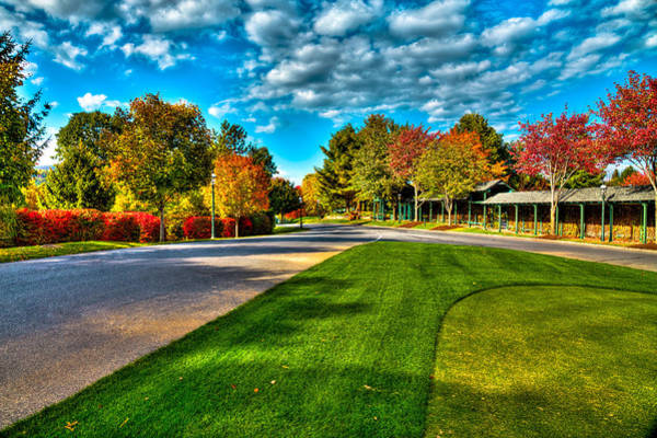 Wall Art - Photograph - The Tear Drop Lawn At The Sagamore Resort by David Patterson