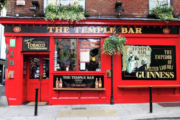 County Dublin Photograph - The Temple Bar Pub In Temple Bar Area by Eoin Clarke