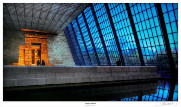 Wall Art - Photograph - The Temple Of Dendur by Lar Matre