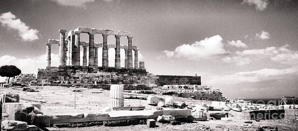 Photograph - The Temple Of Poseidon by Denise Railey