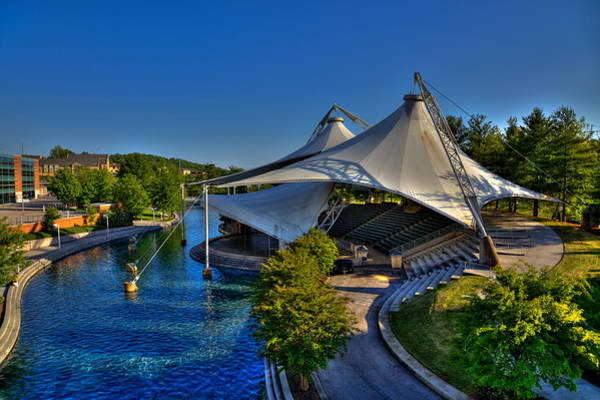 Photograph - The Tennessee Amphitheater - Knoxville Tennessee by David Patterson