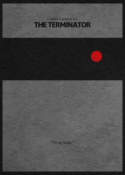 101 Digital Art - The Terminator by Inspirowl Design