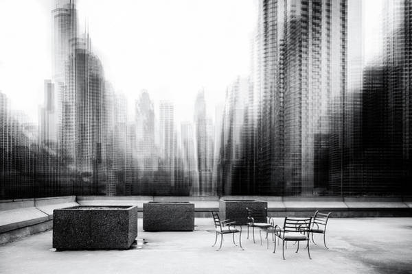 Terrace Photograph - The Terrace by Roswitha Schleicher-schwarz