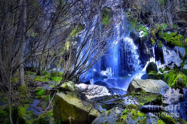 Photograph - The Thawing Falls by Tara Turner