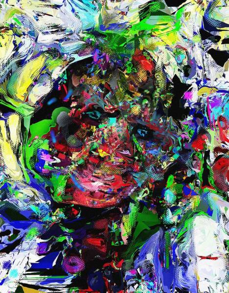 Wall Art - Digital Art - The Thinker by David Lane