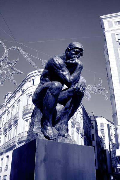 Photograph - The Thinker by Goyo Ambrosio