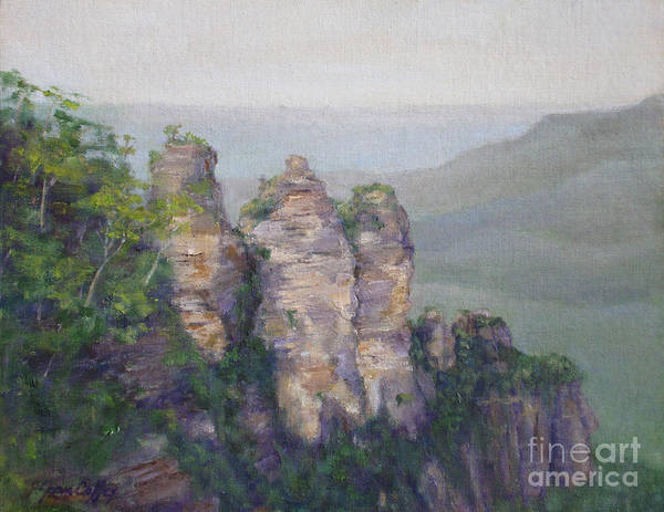Painting - The Three Sisters by Joan Coffey