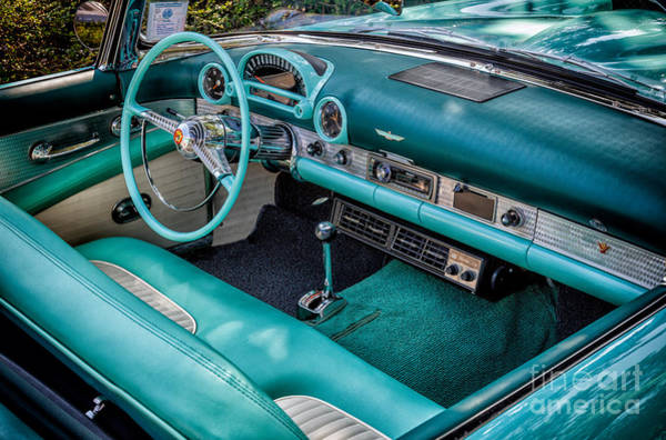 Ford Motor Company Photograph - The Thunderbird by Adrian Evans