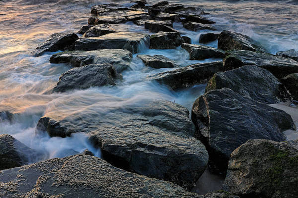 Photograph - The Tide Rolls In by Rick Berk