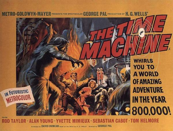 Photograph - The Time Machine  by Movie Poster Prints