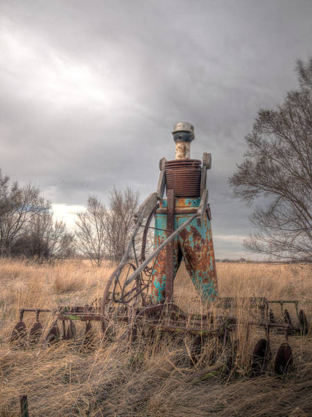 Photograph - The Tin Man  by HW Kateley