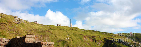 Penwith Photograph - The Tin Mines Of Cornwall by Terri Waters