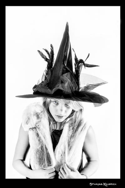 People Wall Art - Photograph - The Tiny Witch by Stwayne Keubrick