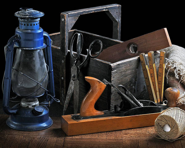 Wall Art - Photograph - The Toolbox by Krasimir Tolev