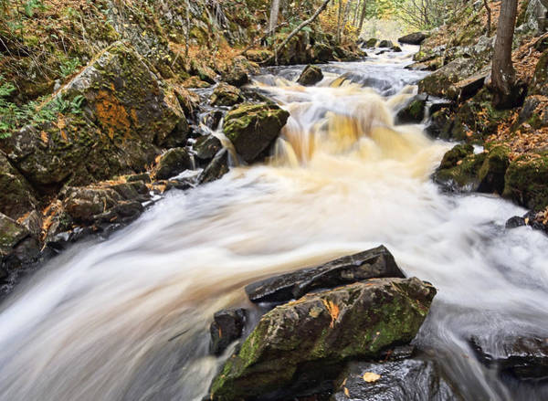 Photograph - The Top Of Smalley Falls by Theo OConnor
