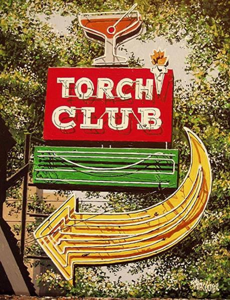 The Torch Club Art Print by Paul Guyer