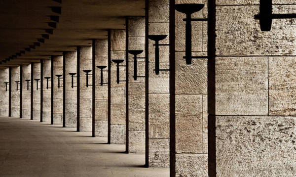 Columns Photograph - The Torches by Karl-axel Lindbergh