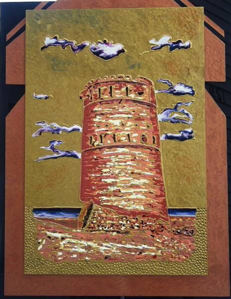Painting - The Tower by Ray Khalife