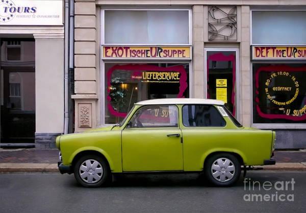 Photograph - The Trabant by Ari Salmela